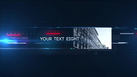 template after effects gc 4k infoblock after effects templates motion array