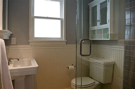 beadboard tile in bathroom gray beadboard bathroom design ideas