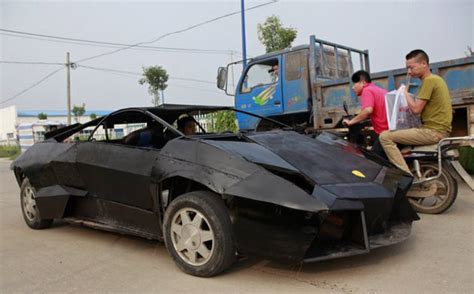 Who Builds Lamborghini Mechanic Builds Lamborghini Replica For 9 500