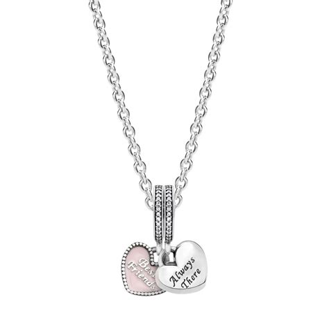 pandora best friends necklace greed jewellery