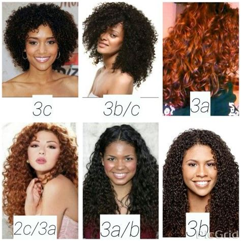 black natural hair types chart for women hair type chart shows textures 2c 3c hairinfo hairtype