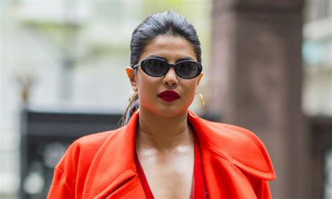 priyanka chopra fashion video meghan markle s friend priyanka chopra wows in red outfit