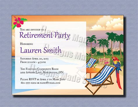 Retirement Card Template For Word by 30 Retirement Invitation Design Templates Psd