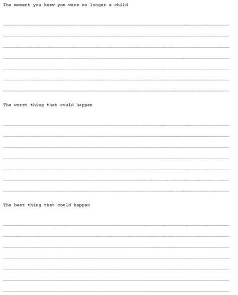 642 things to write journal holycool net
