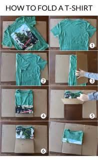 make an easy diy t shirt folding device from a cardboard box