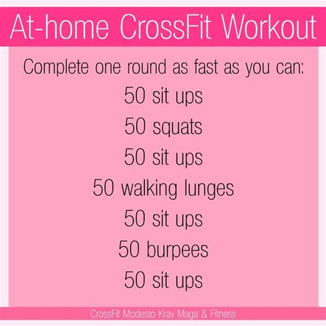 best 25 crossfit workouts at home ideas on