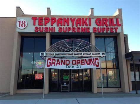 teppanyaki grill sushi supreme buffet 118 reviews