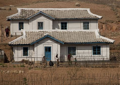 north korea houses houses in the countryside wonsan area north korea a photo on flickriver