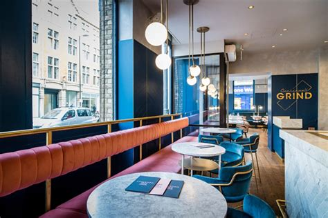 london modern restaurant furniture mid century modern clerkenwell grind restaurant in
