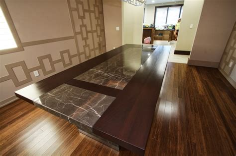custom dining room furniture custom designed dining room table contemporary dining room cleveland by architectural