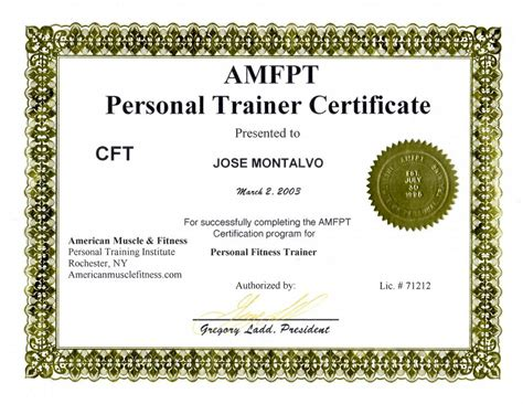 trainer certification pictures for amfpt personal trainer certification florida fl in miami fl
