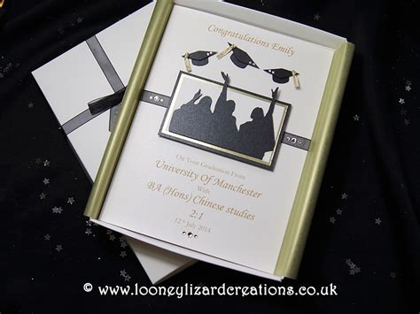 Graduation Handmade Cards - graduation day luxury handmade graduation card