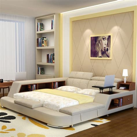 luxury bedroom furniture sets modern fabric queen size