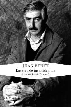 UNA MEDITACIÓN - BENET JUAN - Sinopsis del libro, reseñas