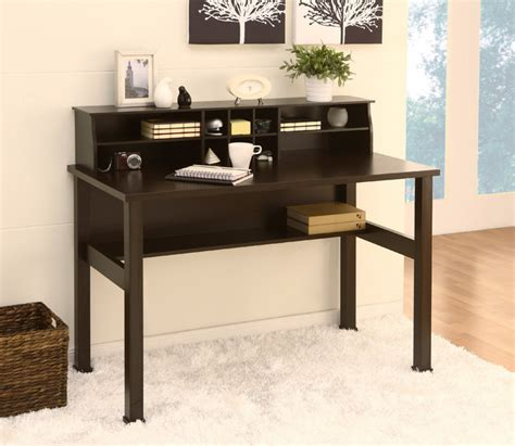 Overstock Office Desk Furniture Of America Kyle Cappuccino Office Writing Desk With Mini Hutch Contemporary Desks