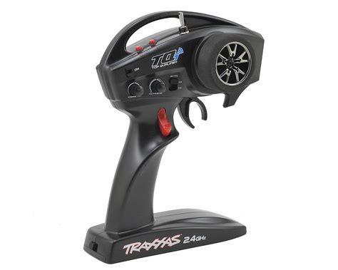 tqi 2 4ghz 4 channel radio system w link wireless tsm micro receiver by traxxas tra6507r
