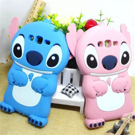 Silicone Lilo Stitch Disney Stich Biru Samsung J7 Prime J5 Prime for samsung galaxy j7 sm j700f coque 3d stitch silicone cover for celular galaxy j7