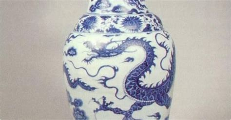 Temple Vase Yuan Dynasty by Ceramics Temple Vase 1351 Porcelain Yuan Dynasty This