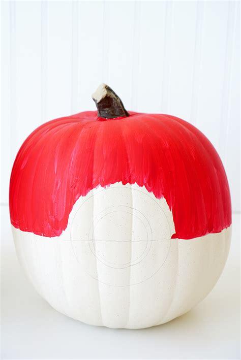 how to make a pumpkin for pumpkins pikachu pokeball happiness is