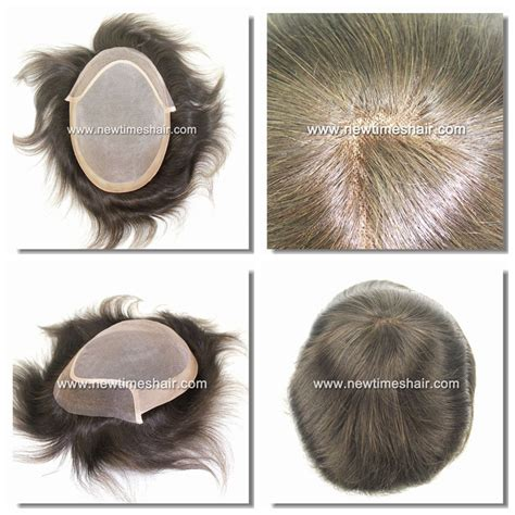 latest hair replacement 2015 ld6 fine mono hair replacement system for men factory