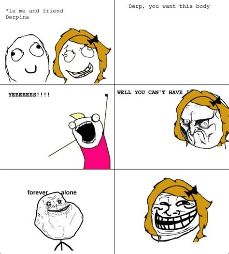 Le Derp Meme - derp and derpina comics related keywords derp and