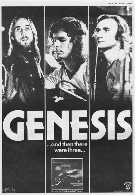 genesis and there were three and then there were three the genesis archive