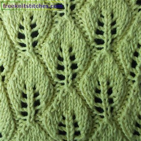 leaf edging knitting pattern knitting pattern leaf leaf fall