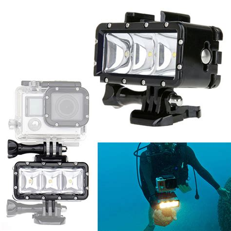 Flash Gopro gopro flash light underwater 30m diving led flash fill