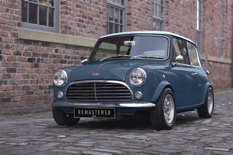Clasic Mini Black K mini remastered by david brown pictures auto express