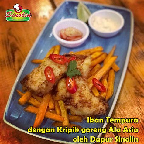 ikan tempura  keripik goreng ala asia oleh dapur