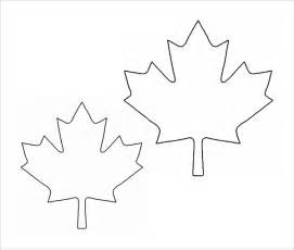 maple leaf template sle leaf template 8 free documents in pdf