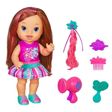 Baby Alive Baby baby alive boneca cabelos fashion morena hasbro toymania