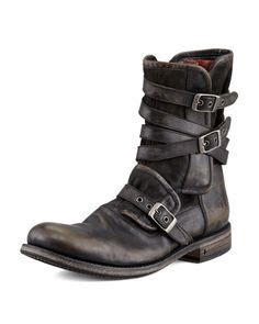 ago black side zip boots by varvatos mens combat boots raddest s fashion looks