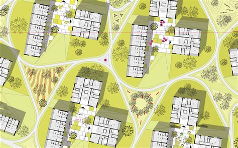 housing complex plans green city housing complex by chybik kristof associated