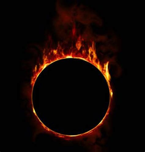 ring of fire 25 stunning exle of fire and flames photo manipulation