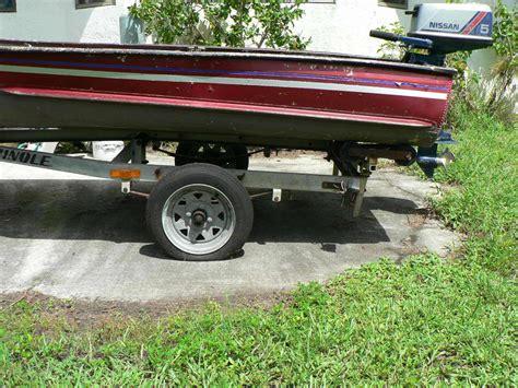 jon boat outboard motor aluminum jon boat 11 5 feet w nissan outboard motor plus