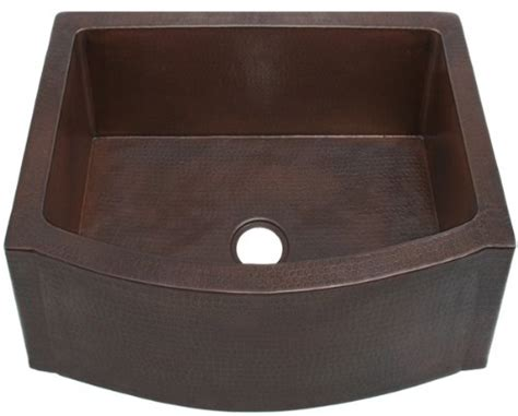 sinks amazing cheap apron sink apron sink amazon used fha25 inch hammermarc copper kitchen sink rounded front