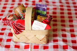 Picnic Themed Favors by S A Picnic