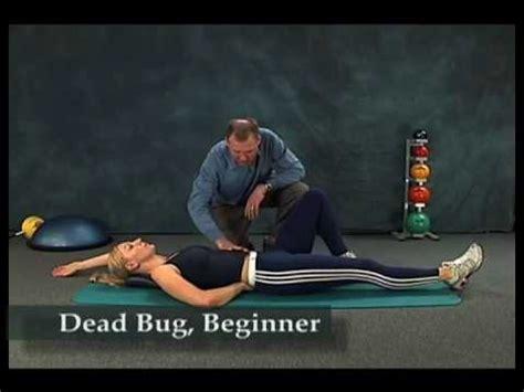 abdominal bracing youtube