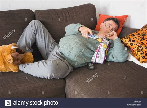 couch potto couch potato stock photo royalty free image 27670561 alamy