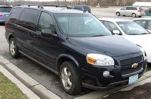 2007 chevy uplander p1174 autos post