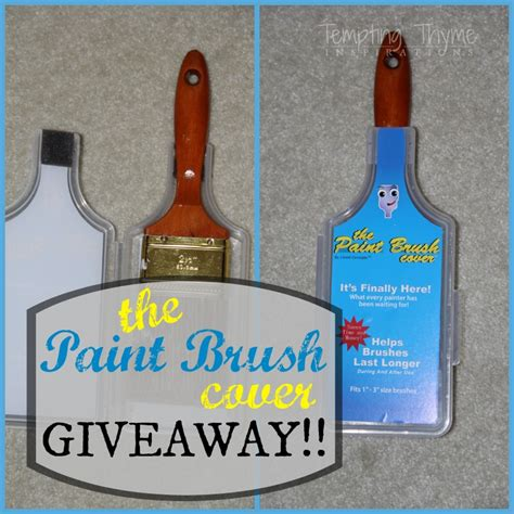 Paint Giveaway - the paint brush cover giveaway tempting thyme