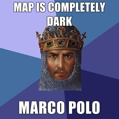 Marco Polo Meme - age of empires meme