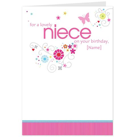 Birthday Cards For Nieces Quotes For Nieces Birthday Card Quotesgram