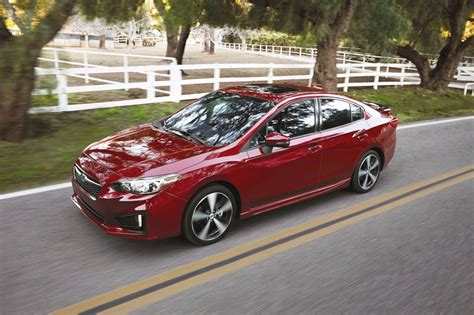 subaru sedan 2018 2018 subaru impreza sedan pricing for sale edmunds