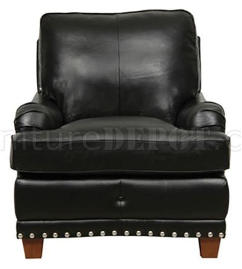 black leather sofa with nailhead trim black full italian leather classic 4pc sofa set w nailhead