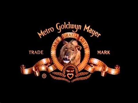 lion film intro the old school metro goldwyn mayer lion roar intro mgm