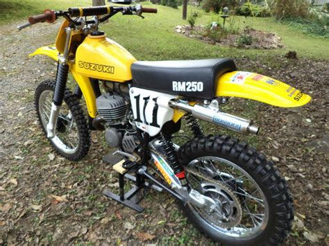 Vintage Suzuki Rm Parts Buy 1978 Suzuki Rm 250 C2 Ahrma Post Vintage Motocross