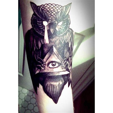 Owl Tattoo With All Seeing Eye | 51 best tattoo images on pinterest