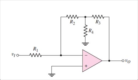 what is a gain resistor gain and input resistance of an ideal op circuit with a t networkgain and input resistance